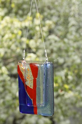 Geometric Window Vase