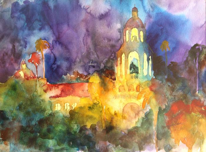 Pasadena City Hall Abstract