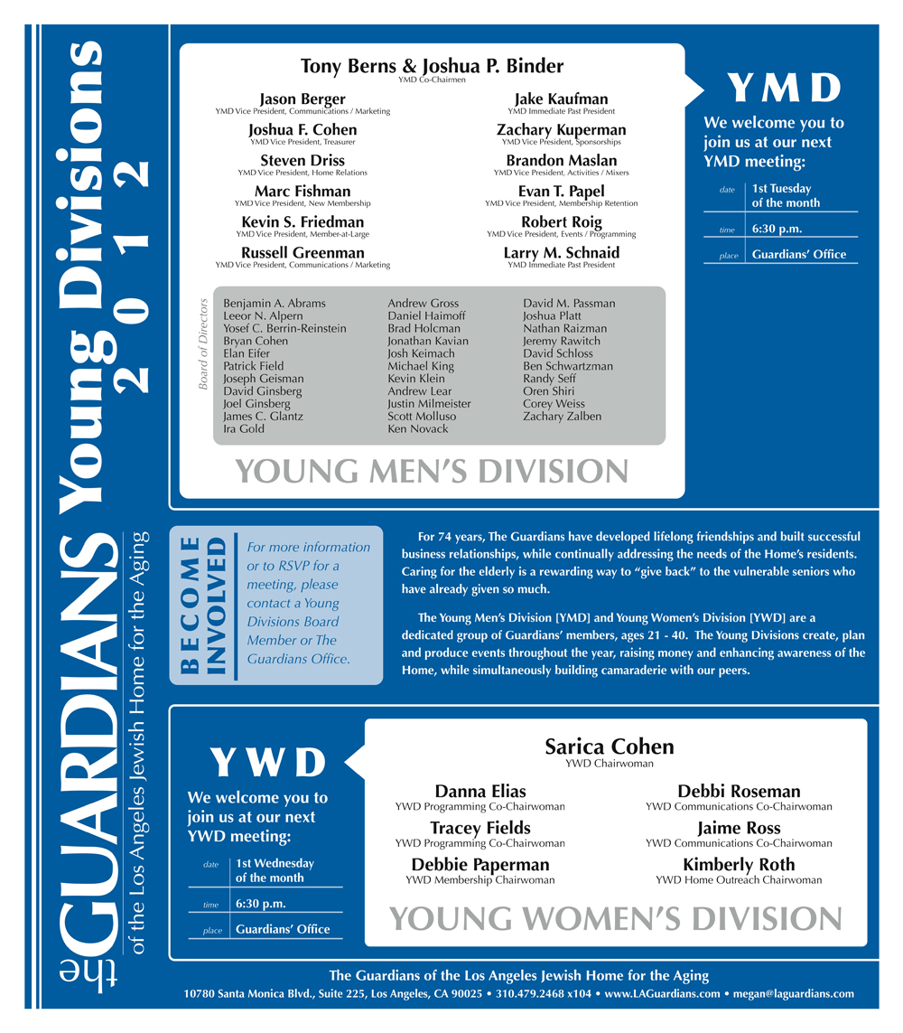 Young Divisions Poster 2012 Redesign